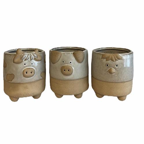 Ceramic Animal Pot