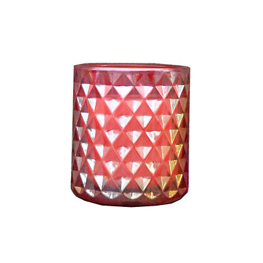 Candle in Lustre Pot