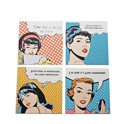 Pop Art Coaster