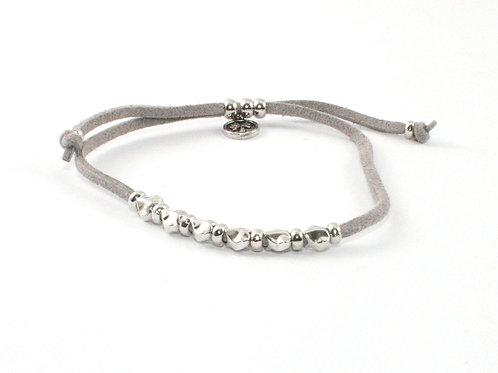 Adjustable Hearts Bracelet