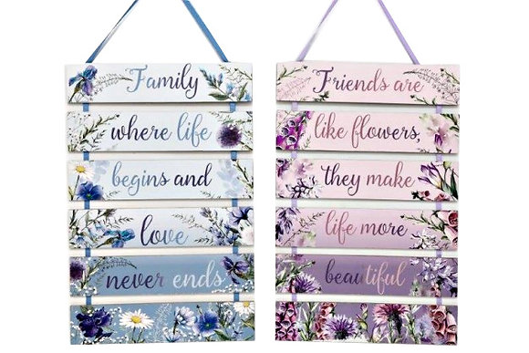 Flower Meadow Plaque