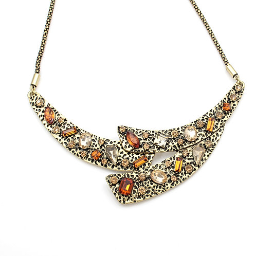 Amber Stones Necklace