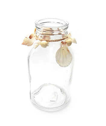 Bottle with Shells