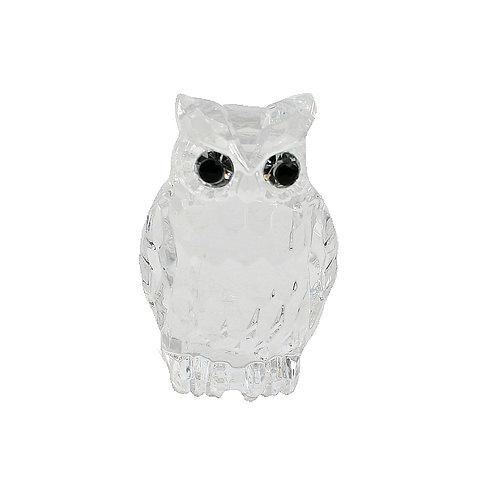 Acrylic Crystal Owl