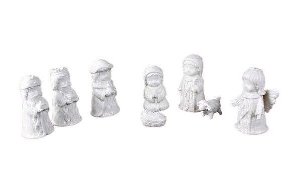 Ceramic Nativity Set