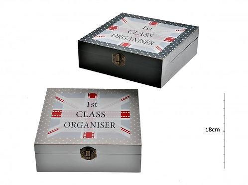 Wooden Union Jack Box