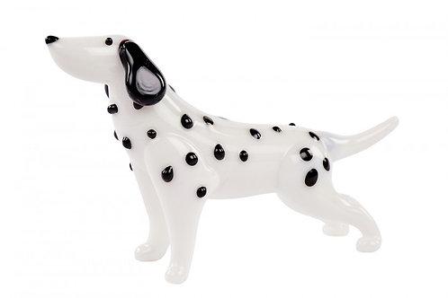 Glass Dalmation Dog