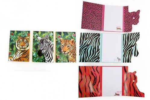 Folding Jungle Notepad
