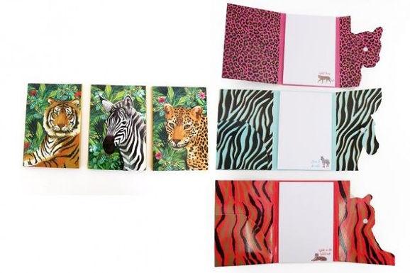 Folding Jungle Notepad