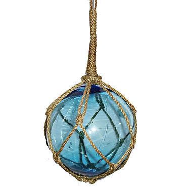Glass Float in Net