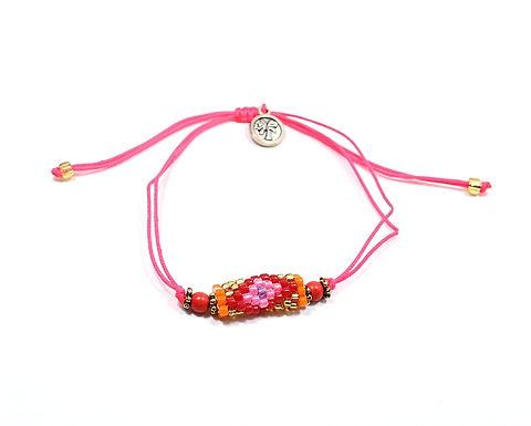 Adjustable Beaded Bracelet