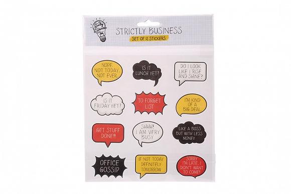 Sarcastic Stickers