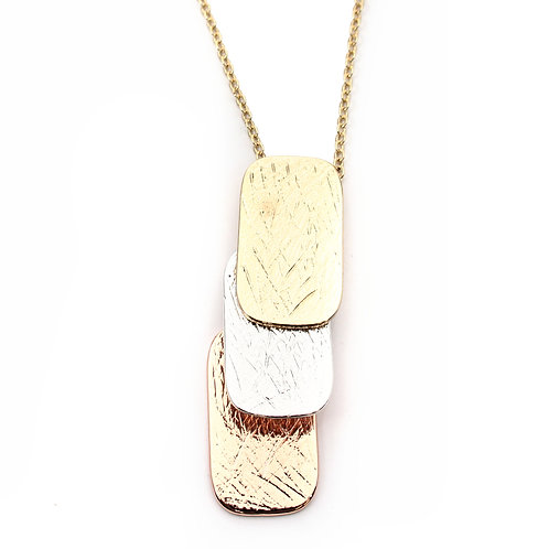 3 Rectangles Necklace