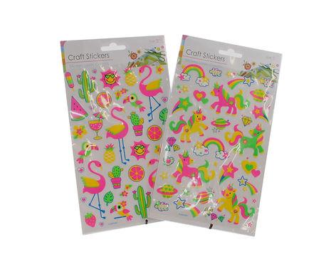 Unicorn & Flamingo Stickers