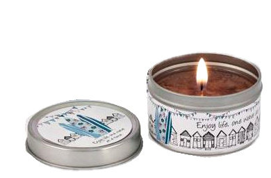 Surf Candle in Tin