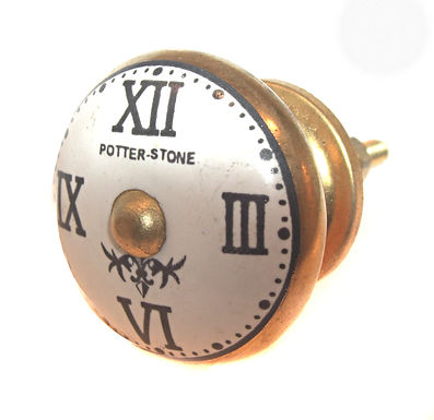 Clock Face Drawer Pull