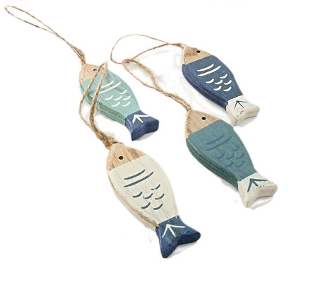 Small Wooden Fish