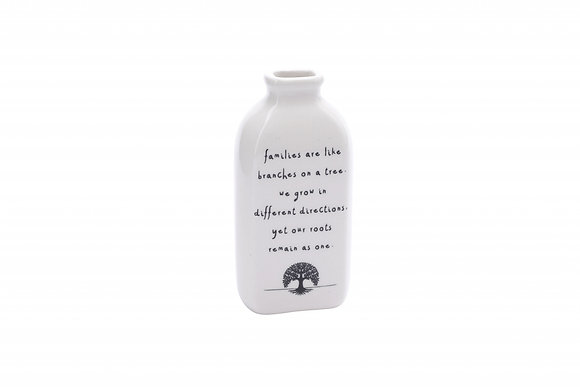 Ceramic Sentiment Bottle