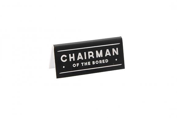 Chairman Desk Sign