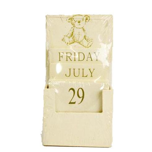Teddy Tile Calendar