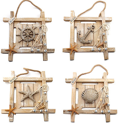 Nautical 3D Wooden Plaque