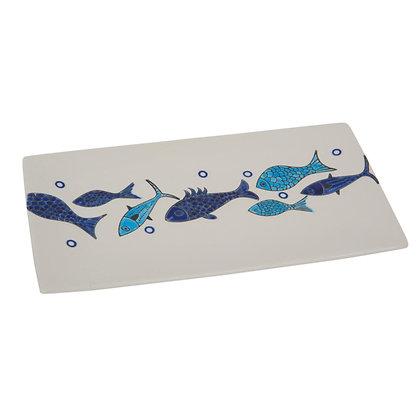 Ceramic Rectangle Fish Plate