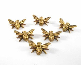 Gold Resin Bee