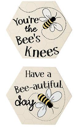 Hex Bee Coaster