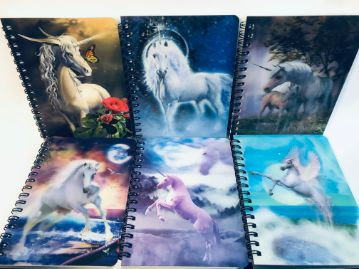Unicorn Hologram Notebook