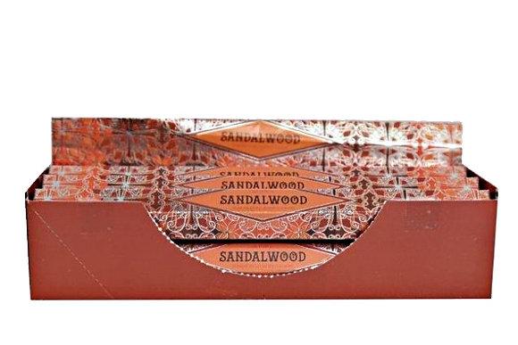 Incense Sticks sticks sandalwood hex box pack 20