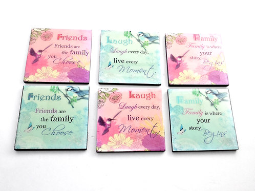 Friends Family Coaster