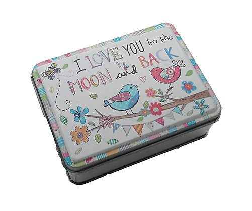 Love You Floral Tin