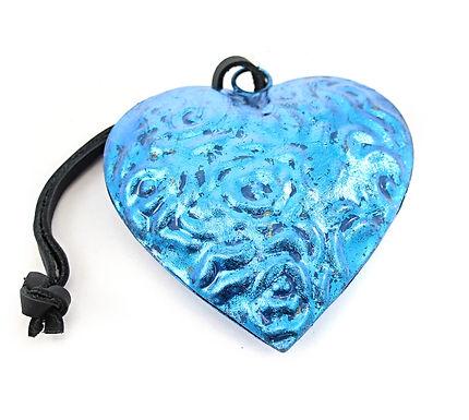 Blue Metal Heart