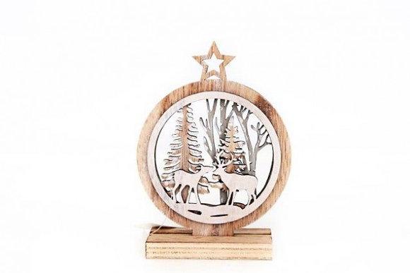 Laser Cut Christmas Decoration