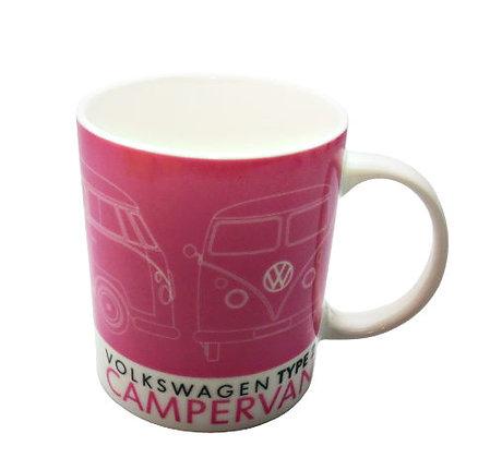 Pink VW Mug