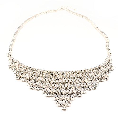 Diamante Statement Necklace