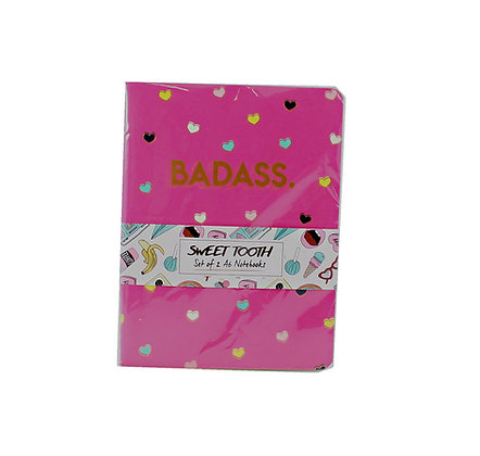Set of 2 Badass Notebooks