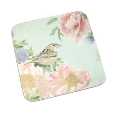 Flower & Bird Coaster