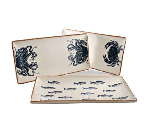 Ceramic Sealife Plate
