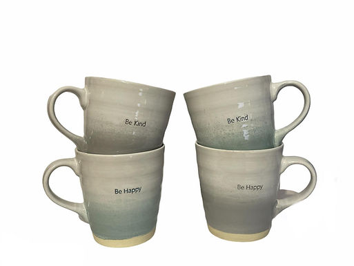 Embossed Glazed Mug