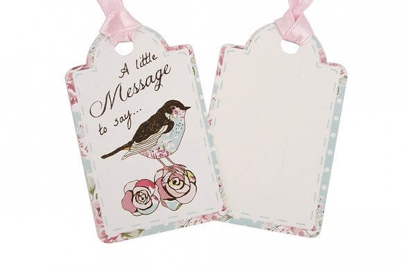 Pack of 2 Bird Gift Tags