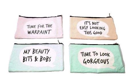 Small Fabric Make Up Bag