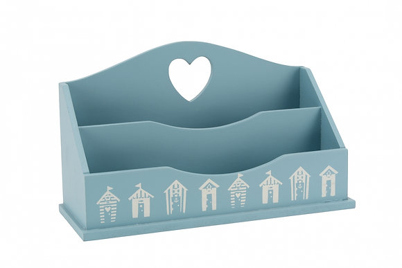 Beach Hut Letter Rack