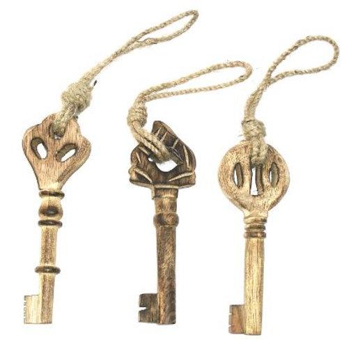 Hanging Wooden Key