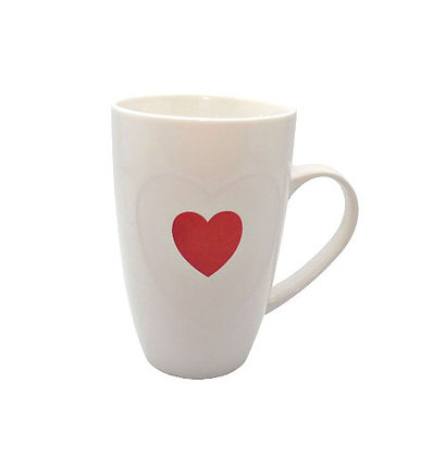 Mug with Red Heart
