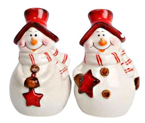 Snowman Salt and Pepper Set