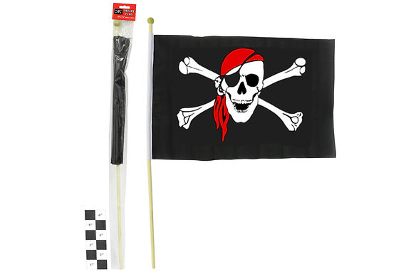 Pirate Handheld Flag