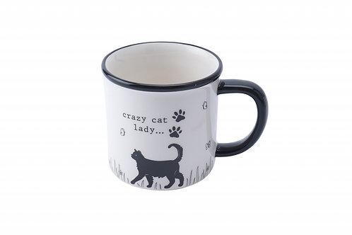 Crazy Cat Mug
