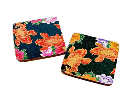 Koi Fish Coaster