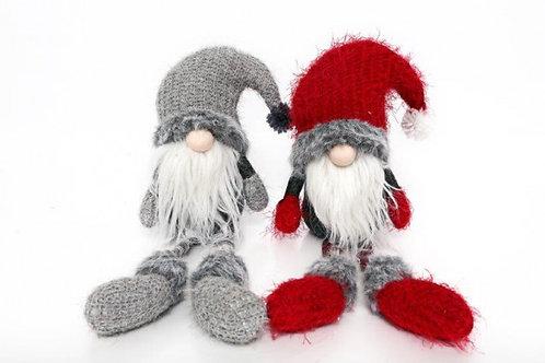 Santa Knitted Shelf Sitter